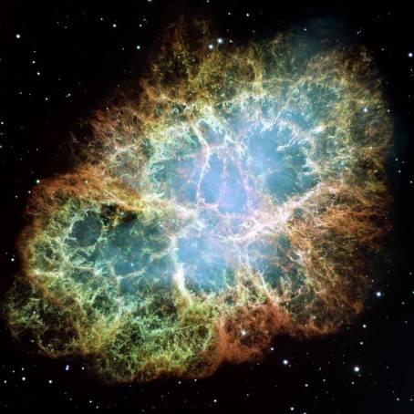 Nebulosa do Caranguejo. Crédito: NASA, ESA, J. Hester, A. Loll (ASU)