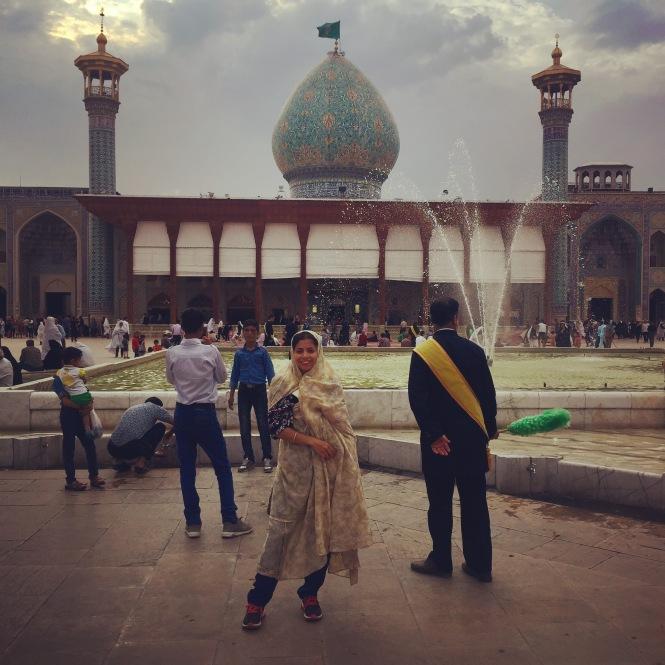 Mesquita Shah Cheragh- Irã
