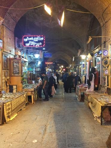 O Grande Bazar de Isfahan
